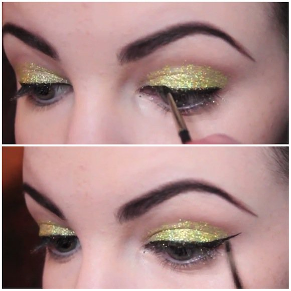 How To Apply Glitter Makeup Look On Your Daily Life